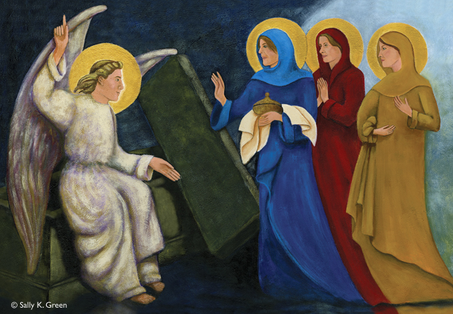 three marys at the tomb